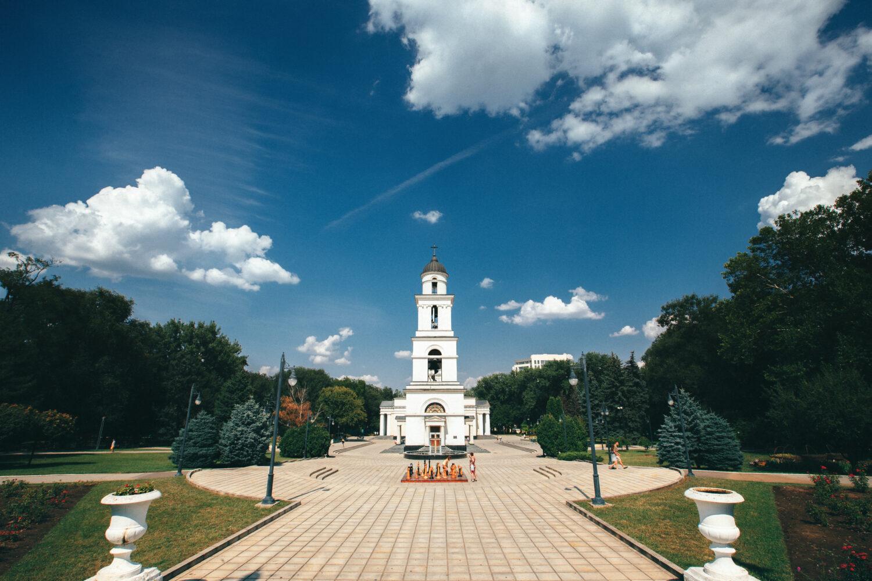 Chisinau city center