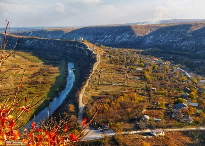 Orhei Vechi region - view from top